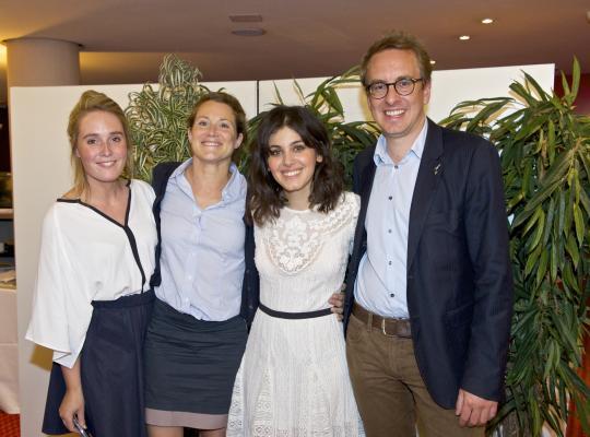 Anneleen Van Bossuyt en Katie Melua