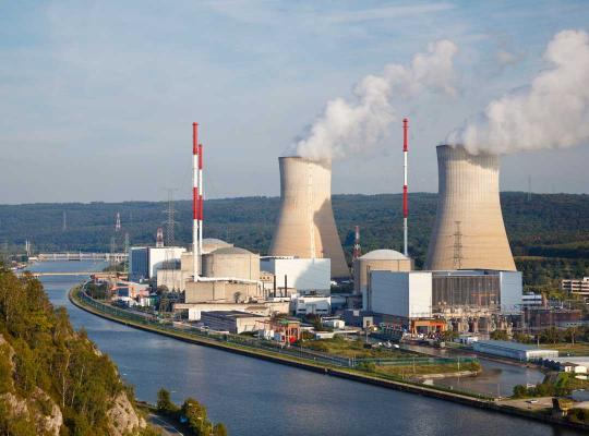 Kerncentrales in Huy