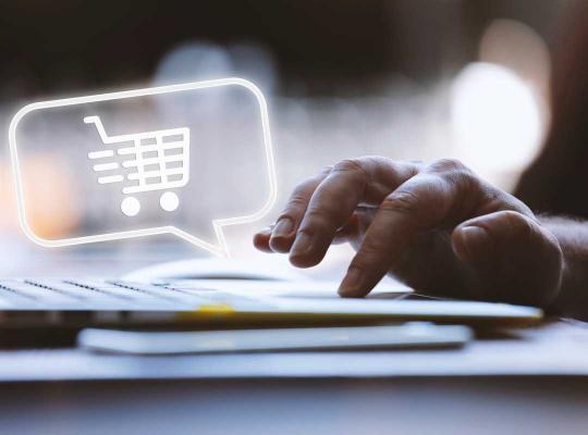 Online winkelwagentje